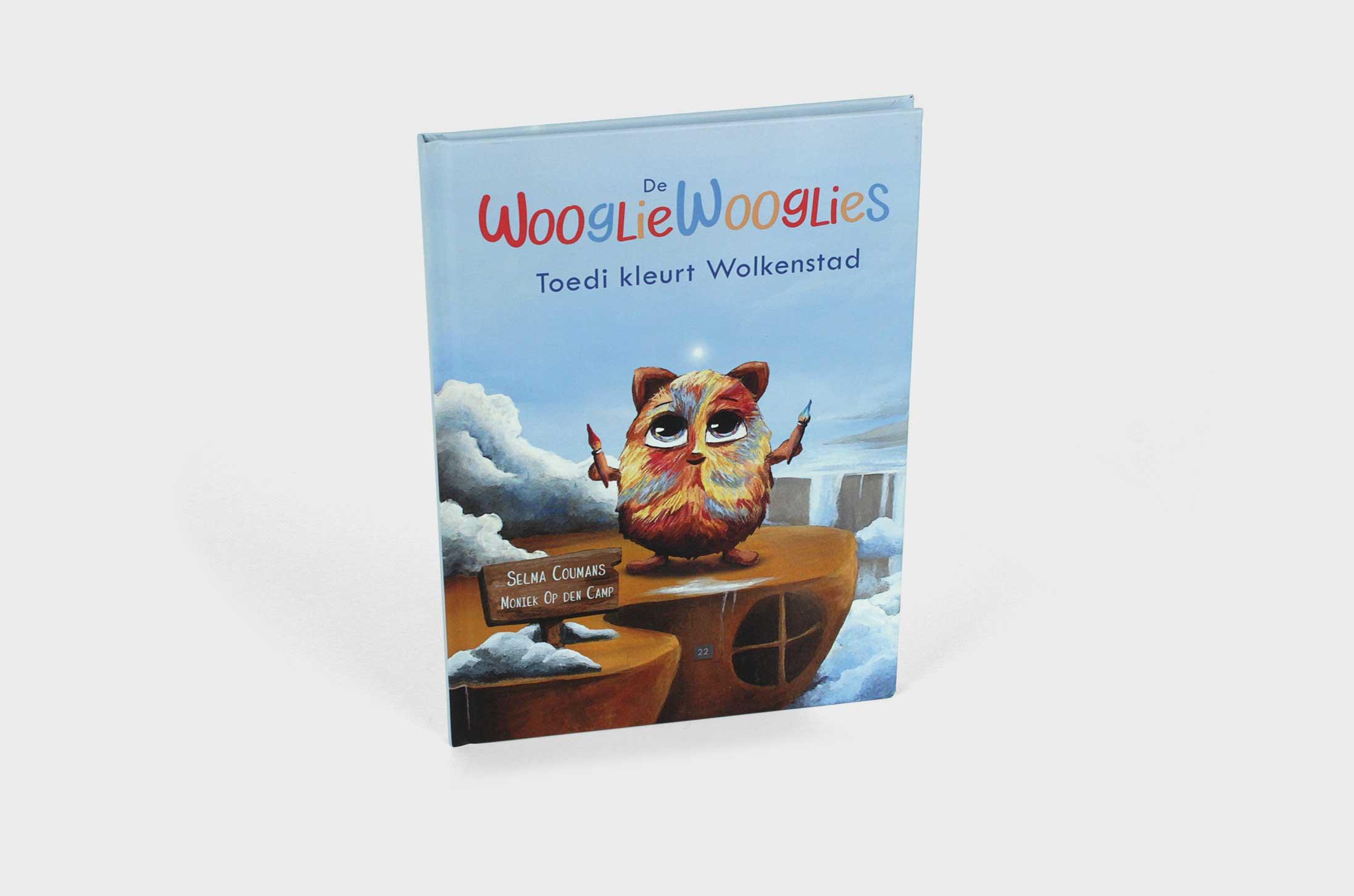 De WooglieWooglies, Toedi kleurt wolkenstad