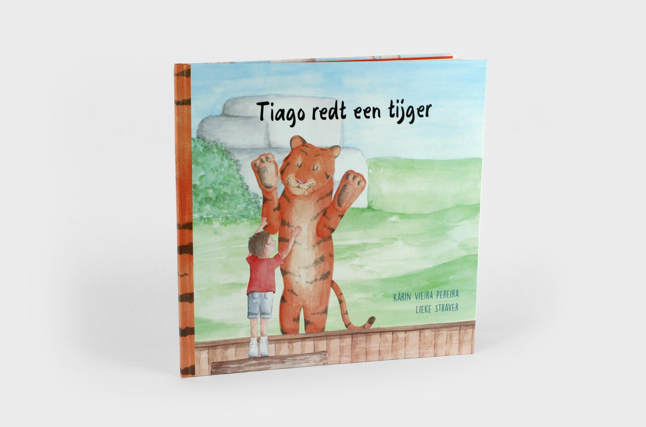 Tiago redt een tijger