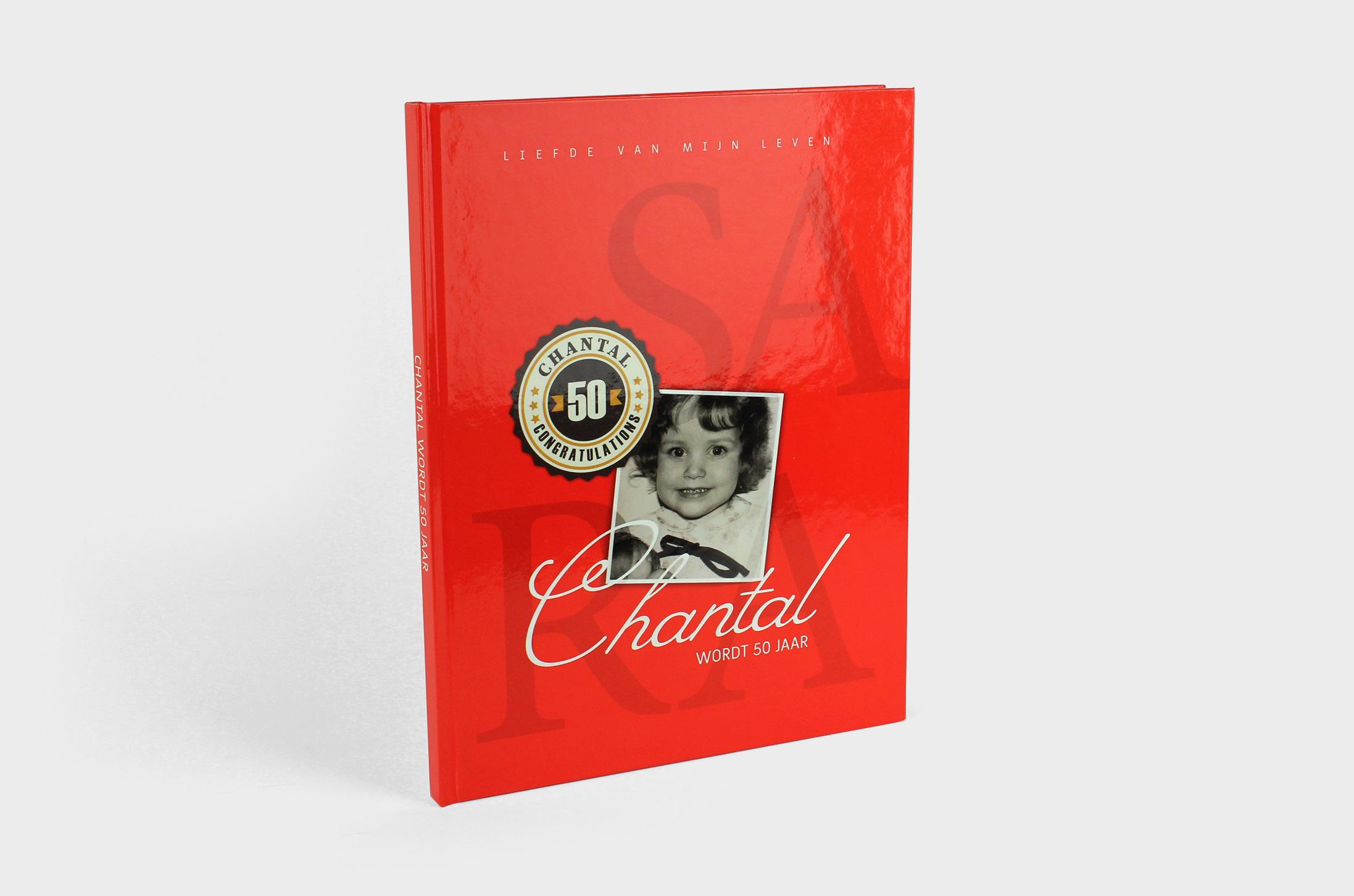 Chantal wordt 50 jaar – jubileumboek