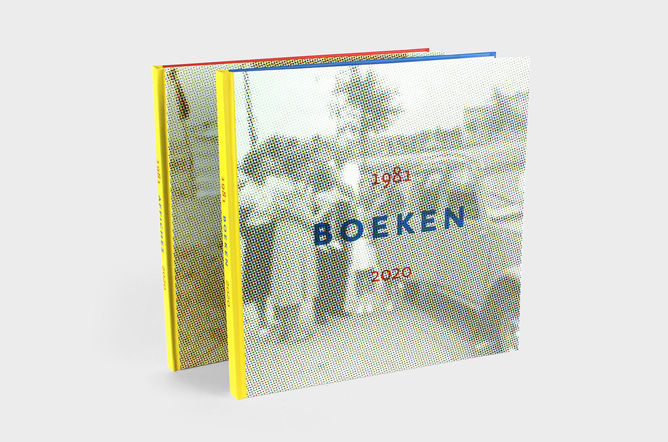 1981 – 2020 affiches en boeken